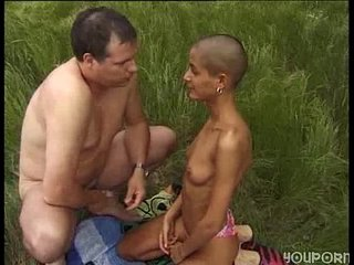 Claudia Demoro aka Reapley - Banging a bald chick