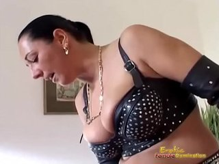 Two Mistresses Play With Sex Toys And Their Slave