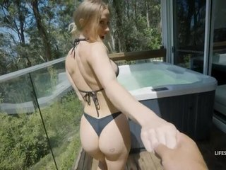 Beautiful Australian chick with bubbly tits gets pleasantly fucked in POV
