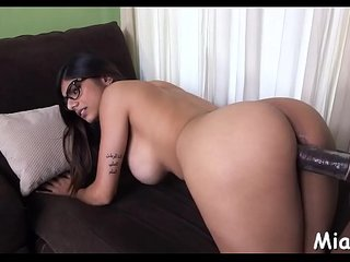 After shower arab honey gets nailed