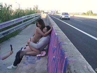 Crazy sex outdoors compilation