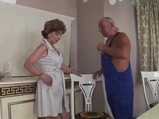 Hairy Anal Granny