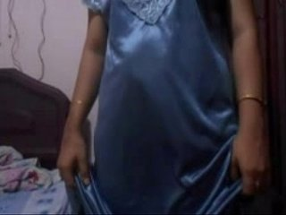 4597975 indian aunty silver bikini.1