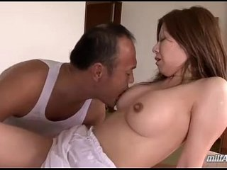Busty Milf Giving Blowjob Getting Her Nipples Sucked Pussy Fucked By Her Husband